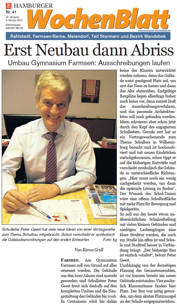 Rahlstedter wochenblatt online dating