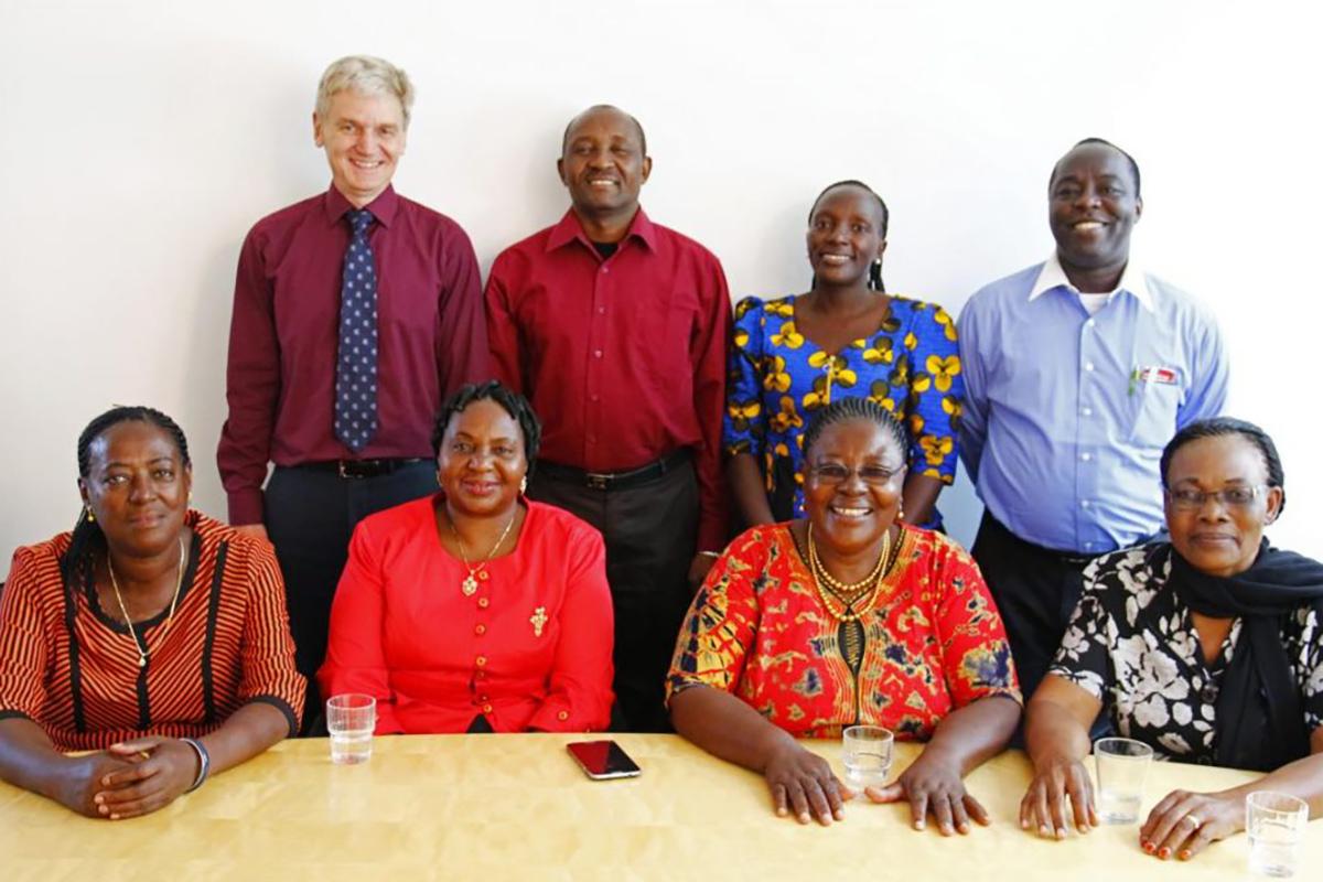 Besuch aus Tansania 2016