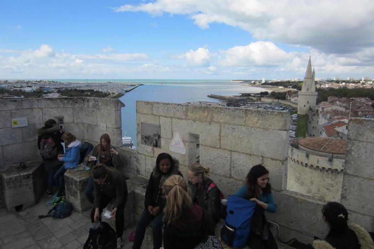 Besuch in Frankreich 2016