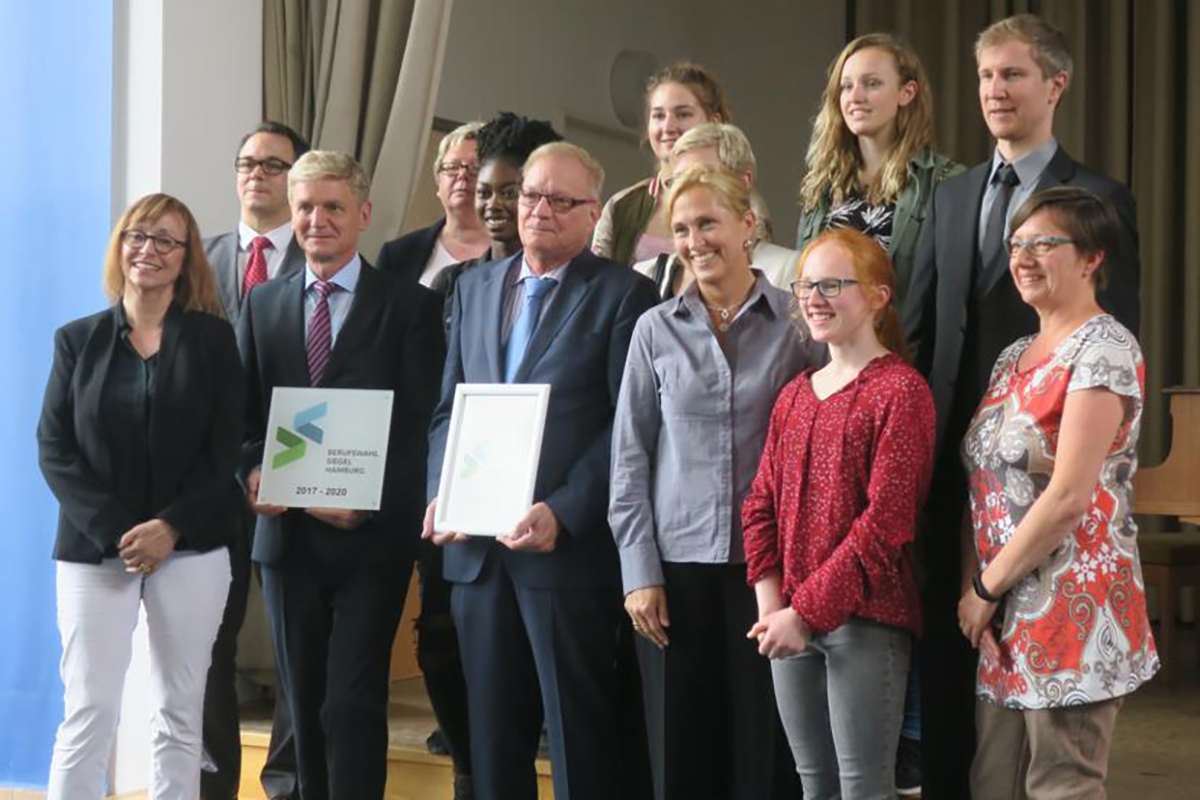 Verleihung des Berufswahlsiegels 2017