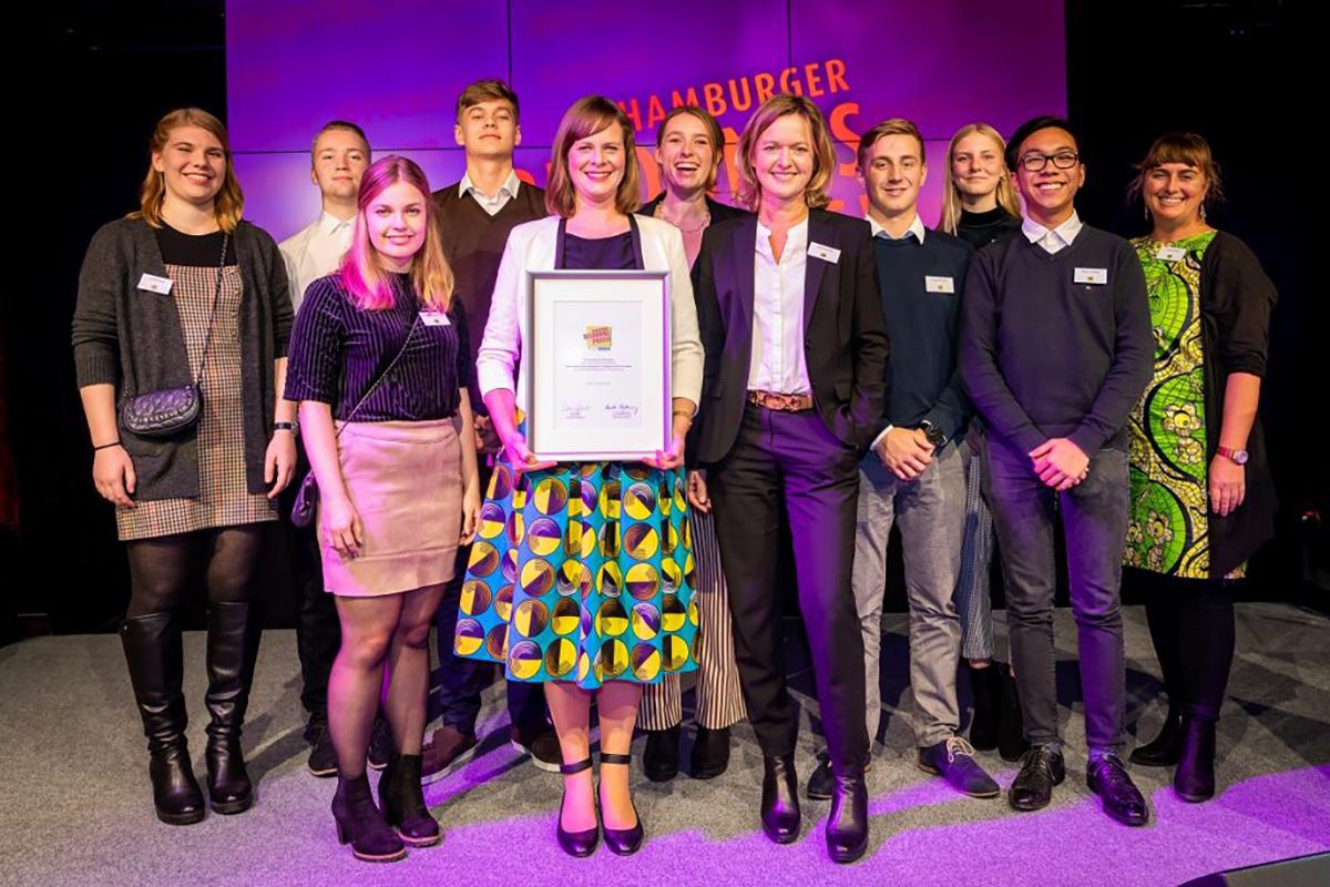Verleihung des Hamburger Bildungspreises 2019