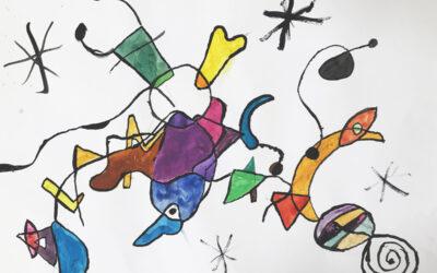 Kreatives aus Klasse 5 und aus der Kunst AG